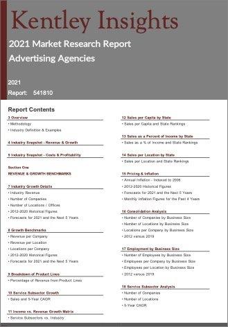 Advertising Agencies Report