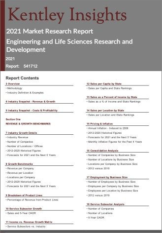 Engineering Life Sciences Research Development Report