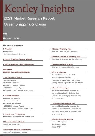 Ocean Shipping Cruise Report