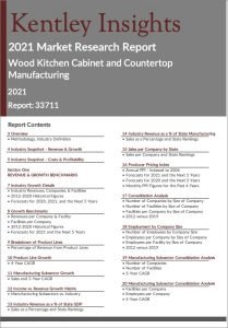 Wood Kitchen Cabinet Countertop Manufacturing Report